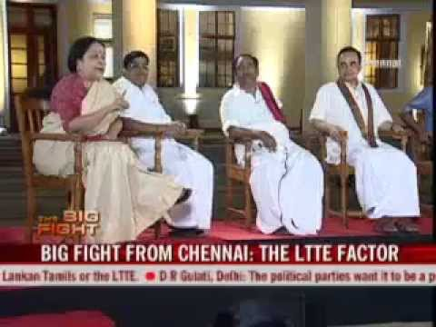 Subramanian Swamy on the LTTE factor in Tamil Nadu 25 Apr '09
