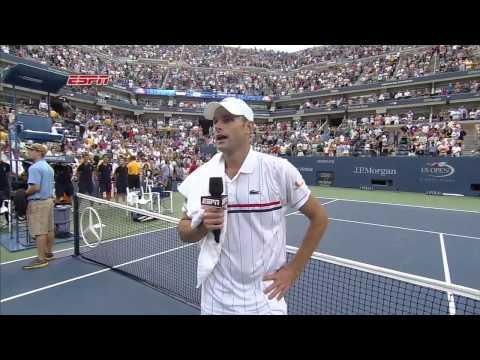 Andy Roddick Says Goodbye