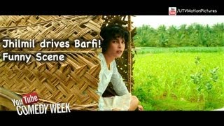 Barfi - Barfi races with a bullock cart |  Ranbir Kapoor | Priyanka Chopra | IIleana