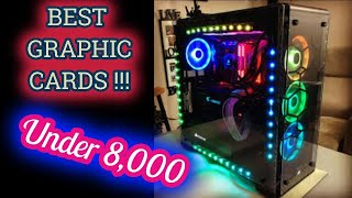 Best graphic cards under 8000 | Gaming | Graphic card | Gaming pc | Asad Techs