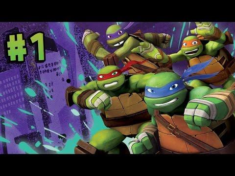 Teenage Mutant Ninja Turtles Danger of the Ooze - Walkthrough Part 1 [HD]