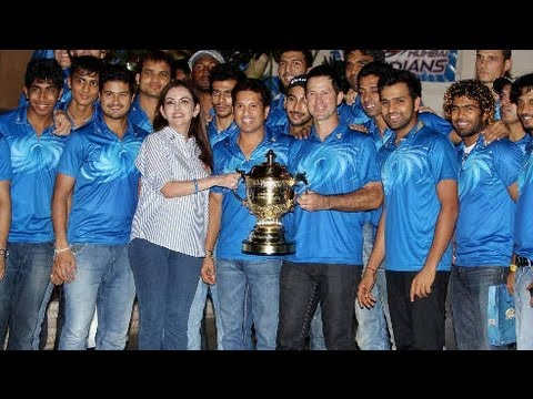 Mumbai Indians IPL 6 Success Bash !