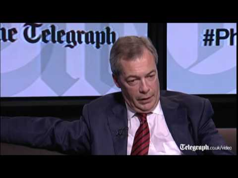 Watch in full: Nigel Farage quizzed by Telegraph readers