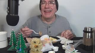 ASMR Eating the Burger King 1170 Calorie Ultimate Breakfast