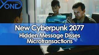New Cyberpunk 2077 Hidden Message Disses Microtransactions