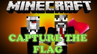 Minecraft CAPTURE THE FLAG Mini Game - CHARGE!!! w/ Facecam