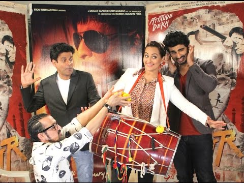 Arjun Kapoor, Sonakshi Sinha, Manoj Bajpayee Exclusive Interview | Latest Bollywood Movie Tevar video