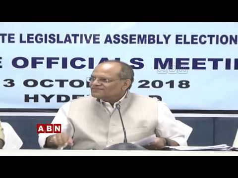 Excise Commissioner Somesh Kumar Press meet | ABN LIVE
