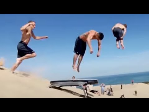 PEOPLE ARE AWESOME 2016: BEST TRAMPOLINE TRICKS EDITION
