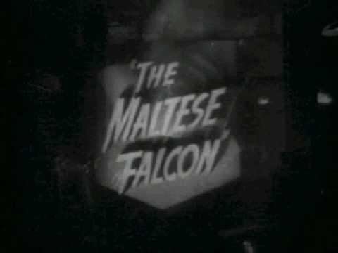 Maltese Falcon Posters & Trailer from MoviePosterBid.com