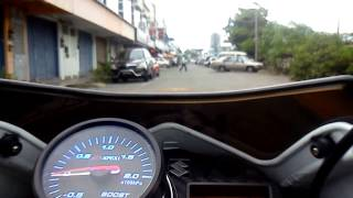 Suzuki belang turbo boost at 1 bar