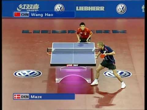 2005 WTTC: Michael Maze - Wang Hao (full match|short form)