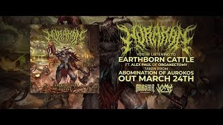 HURAKAN - EARTHBORN CATTLE (FT. ALEX PAUL OF ORGANECTOMY) [OFFICIAL LYRIC VIDEO] (2019) SW EXCLUSIVE