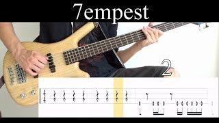 7empest (Tool) - Bass Cover (With Tabs) by Leo Düzey