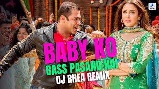 Baby Ko Bass Pasand Hai - Sultan - DJ Rhea Remix