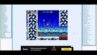 Обзор флеш игр - Sonic