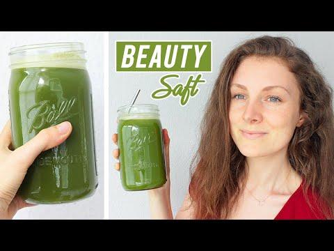 Mein GEHEIMTIPP für strahlend schöne Haut | Grüne Säfte machen´s möglich!