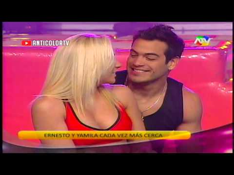 COMBATE Ernesto le da un Beso a Yamila 01/11/13