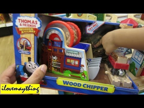 Thomas Wood Chipper - Thomas & Friends Wooden Railway