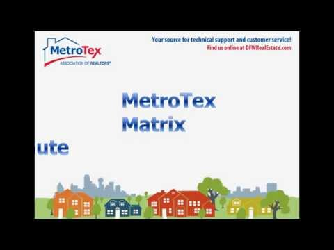 MetroTex Matrix Minute – My Listings Widget