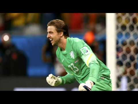 Tim Krul Saves Netherlands vs Costa Rica Penalty Shootout World Cup 2014