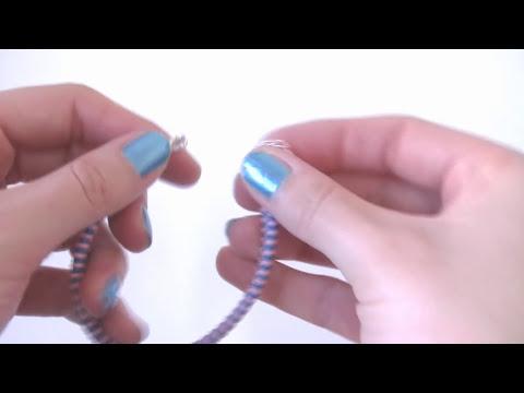 Manualidades DIY - Pulsera nudo de Pez