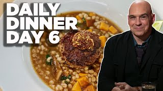 Cook Along with Michael Symon | Burger and Barley Stew | Daily Dinner Day 6