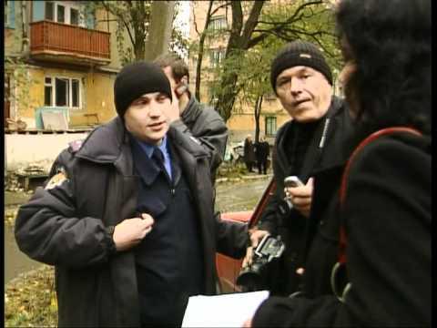 Нападение милиционера Приморского РО на журналистов