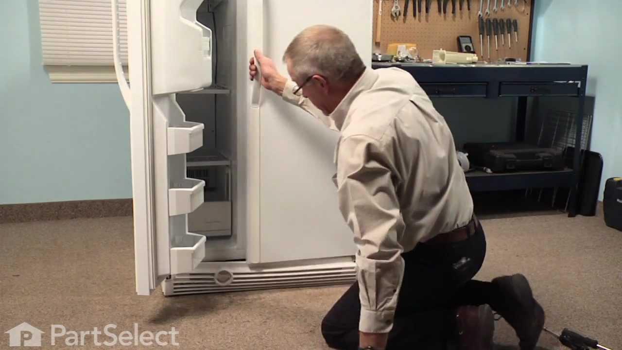Refrigerator Repair Replacing The Water Filter Housing