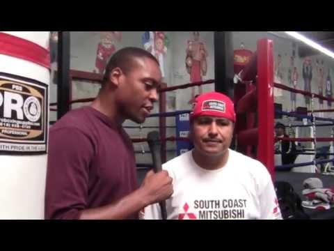 ROBERT GARCIA on Floyd Mayweather