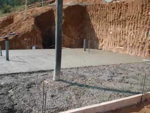 Como hacer plataforma para casa prefabricada