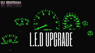 JEEP ZJ DASH LIGHT REPLACEMENT