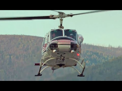 Forest Fire Fighting Helicopters