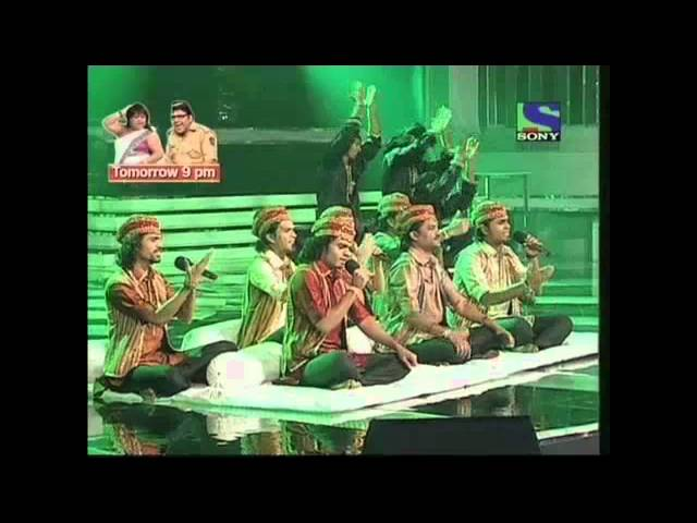 X Factor India - Deewana Group pays homage to Nusrat Fateh Ali Khan- X Factor India - Episode 23 - 30th Jul 2011