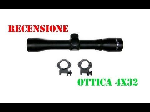 Recensione-Ottica 4x32 Softair (Norconia)