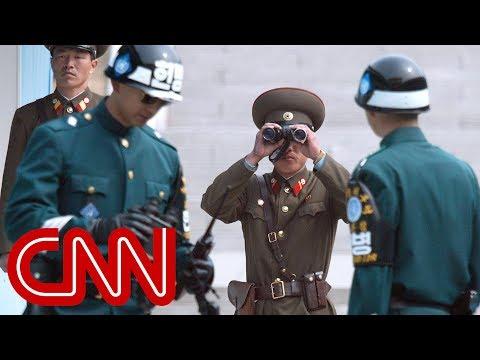 Rare Look Inside Korea's Demilitarized Zone video