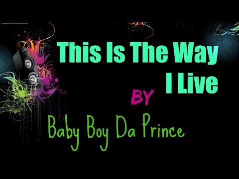This Is The Way I Live by Baby Boy Da Prince Lyrics
