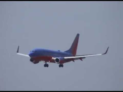 *Water Salute* Inaugural Flight of Southwest Airlines into KBBG