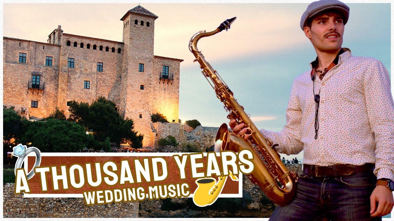 A Thousand Years de Christina Perri por el saxofonista Sax on Ara