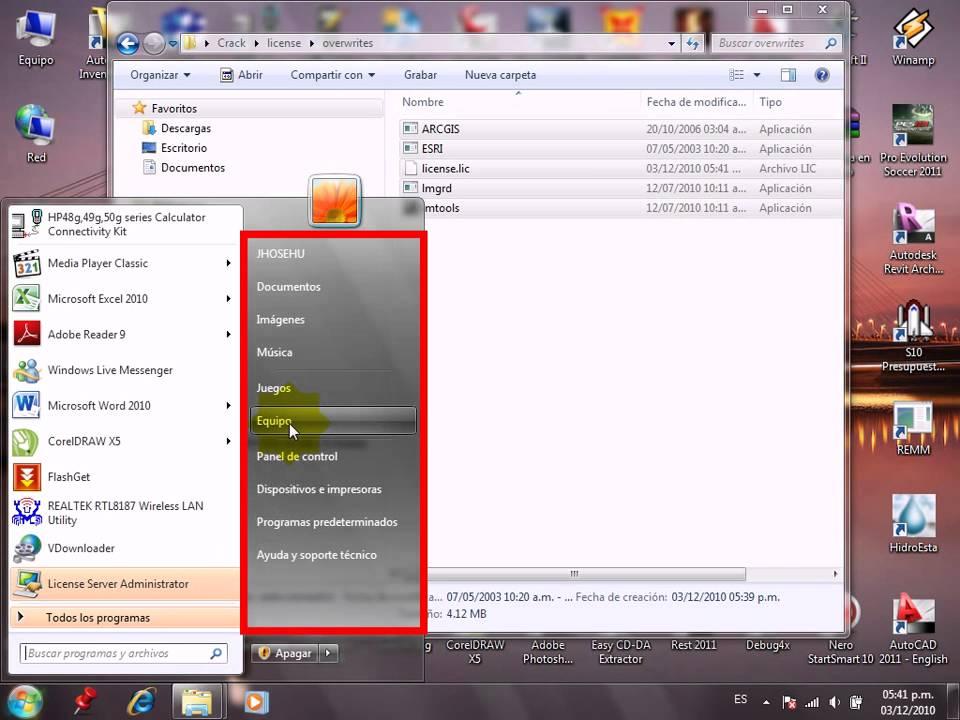 Instalacion de arcgis 10 - Valido para XP, Vista, Seven 32 y 64 Bitz. arcgi