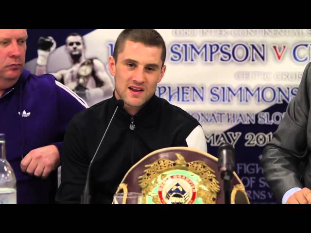 BROLL BURNS VS GONZALEZ PRESS CONF