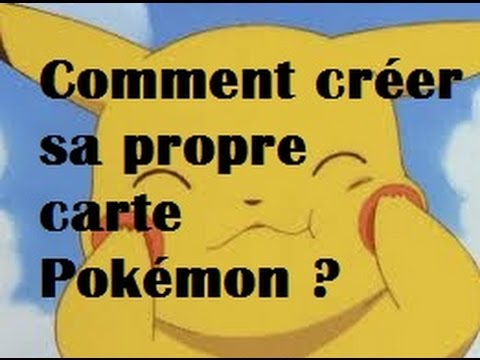 Comment cr er sa propre carte pok mon youtube - Comment faire sa pate fimo sois meme ...