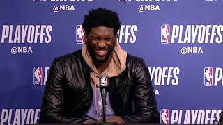 Joel Embiid Trolls Warriors with 3-1 Joke & Jimmy Butler Leaves! | April 20, 2019