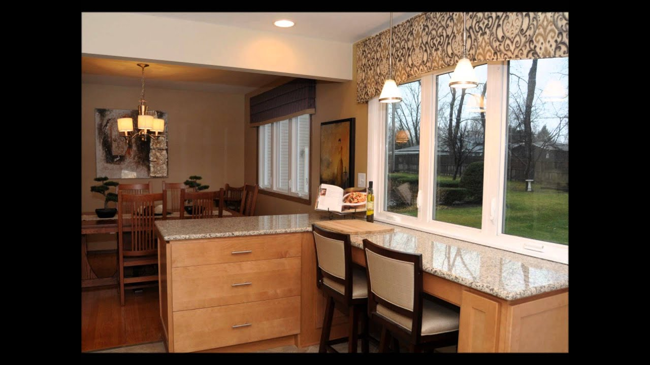 Kitchen Remodel Design With Maple Cabinets And