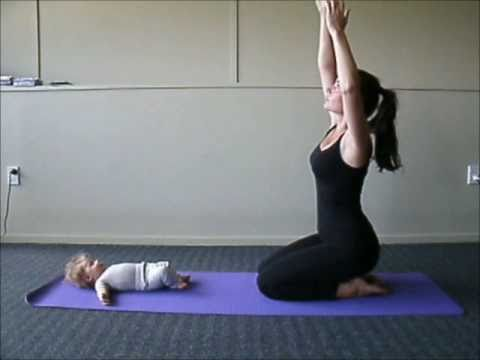 Mum and Baby Yoga Sequence with Jo Hogan of Bella Mama