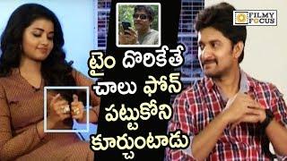 Nani Addiction to Phone also Revealed by Anupama Parameswaran || Nagarjuna is Correct : Unseen Video