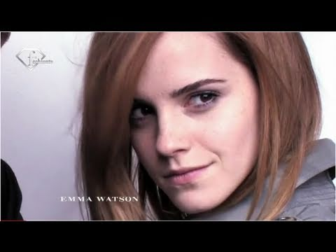 Thumb Emma Watson and her brother Alex in the Burberry Campaign