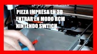 Nintendo Switch: Pieza Impresa en 3d para entrar en modo RCM por Fail0verflow 6.07 MB