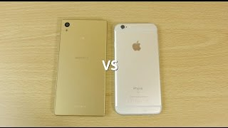 Sony Xperia Z5 VS iPhone 6s - Speed & Camera Test!