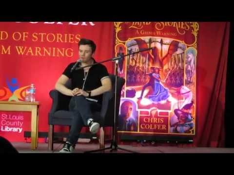 Chris Colfer Q&A || TLOS3 Book Tour || 7-15-14 St. Louis County Library